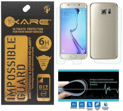 iKare Front and Back Screen Guard for Samsung Galaxy S6 Edge Plus(Pack of 1)