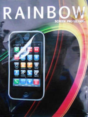 Rainbow Screen Guard for Micromax Bolt A26