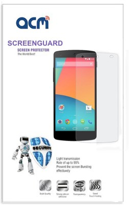 ACM Screen Guard for Samsung Music S6010 S6012(Pack of 1)