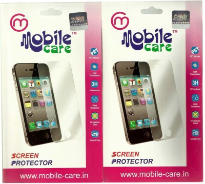Mobile Care Screen Guard for Blackberry Q-10(Pack of 2)