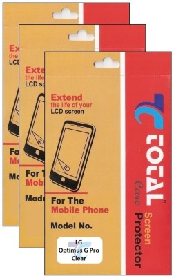 Total Care Screen Guard for LG Optimus G pro E988(Pack of 3)