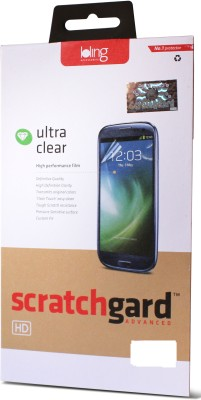 Scratchgard Screen Guard for Lava Iris 401E