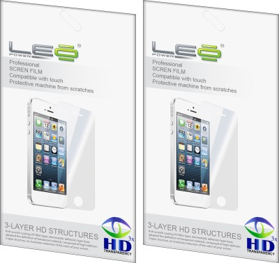 Leo Power Screen Guard for Micromax Smarty A30(Pack of 2)
