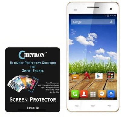 Chevron Screen Guard for Micromax Canvas HD Plus A190(Pack of 4)