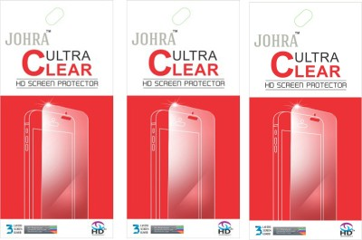Johra Screen Guard for Nokia Lumia 520(Pack of 3)