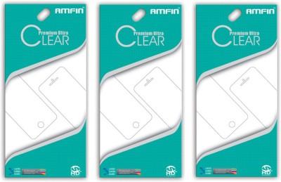 AMFIN Screen Guard for Mi Redmi Note 4(Pack of 3)