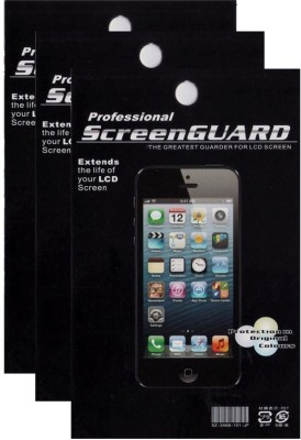 Professional Screen Guard for Apple iPhone 4s(Pack of 3)