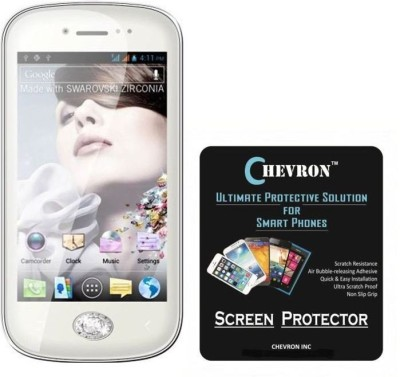Chevron Screen Guard for Micromax Bling 3 A86(Pack of 2)