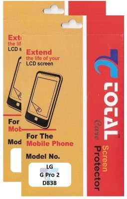 Total Care Screen Guard for LG G pro 2 D838(Pack of 2)