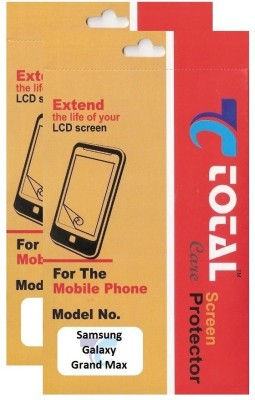 Total Care Screen Guard for Samsung Galaxy Grand Max(Pack of 2)