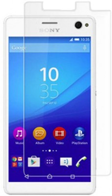Mobikare Tempered Glass Guard for Sony Xperia C3 / Sony Xperia C3 Dual SIM(Pack of 3)