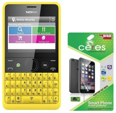 Ceres Screen Guard for Nokia Asha 210(Pack of 3)