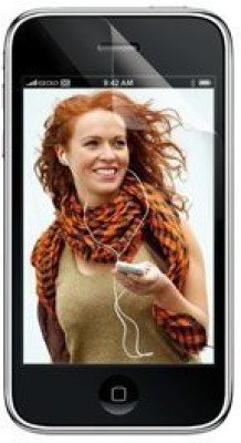 Gecko Screen Guard for Apple iPhone 3G, 3Gs(Pack of 2)