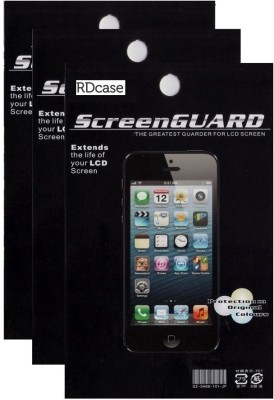 RDcase Screen Guard for Micromax A114 Canvas 2.2(Pack of 3)