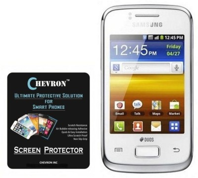 Chevron Screen Guard for Samsung Galaxy Y Duos S6102