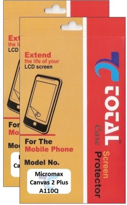 Total Care Screen Guard for Micromax A110Q Canvas 2 Plus