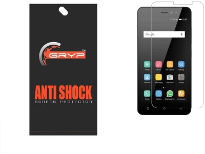 GRYP Screen Guard for Premium HD Flexible AntiShock Screen Protector for Gionee P5 W(Pack of 1)