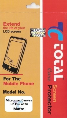 Total Care Screen Guard for Micromax Canvas HD Plus A190(Pack of 1)