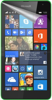 Snooky Screen Guard for Microsoft Lumia 535(Pack of 1)