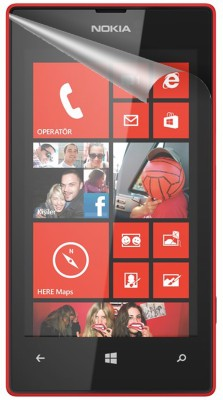 ACM Tempered Glass Guard for Nokia Lumia 520(Pack of 3)