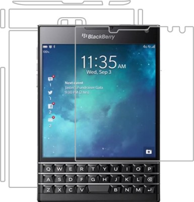 Loopee Tempered Glass Guard for Blackberry Passport(Pack of 1)