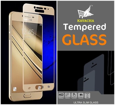 Kavacha Edge To Edge Tempered Glass for Samsung Galaxy A9 3D GLASS