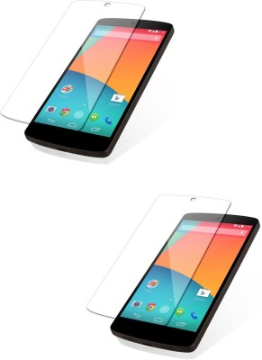 MudShi Tempered Glass Guard for Google Nexus 5(Pack of 2)