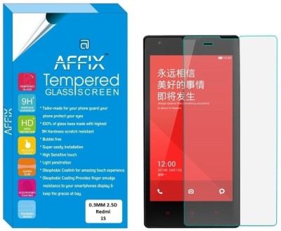 Affix Tempered Glass Guard for Xiaomi Redmi 1S (4.7 Inch Display)(Pack of 1)