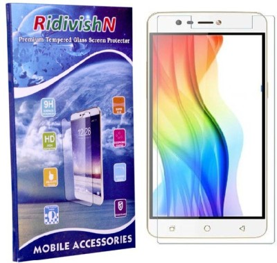 RidivishN Tempered Glass Guard for Gionee Pioneer P2s(Pack of 1)