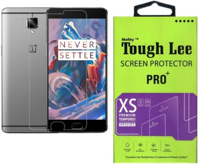Tough Lee Tempered Glass Guard for OnePlus 3, OnePlus 3T(Pack of 1)