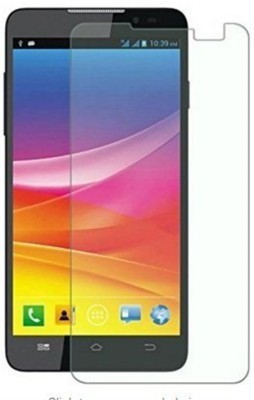 CURO Tempered Glass Guard for Micromax Canvas HD Plus A190(Pack of 1)
