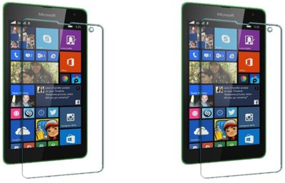 ACM Tempered Glass Guard for Microsoft Lumia 535 (Pack Of 2)(Pack of 2)