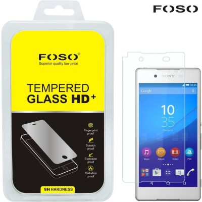 FOSO Tempered Glass Guard for Sony Xperia Z4(Pack of 1)