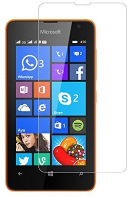 Craftech Tempered Glass Guard for Nokia Lumia 430(Pack of 1)