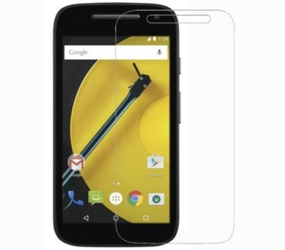 Big Zee Tempered Glass Guard for Motorola Moto E (2nd Gen) 4G(Pack of 1)