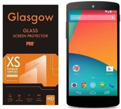 Glasgow Tempered Glass Guard for LG Nexus 5(Pack of 1)