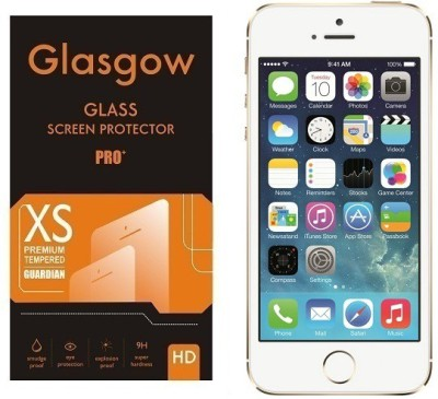 Glasgow Tempered Glass Guard for Apple iPhone 5s(Pack of 1)