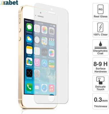 Xabet Tempered Glass Guard for APPLE IPHONE 5,APPLE IPHONE 5S