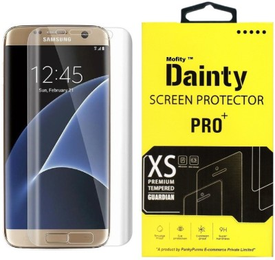Dainty Tempered Glass Guard for Samsung Galaxy S7 Edge (5.5 inch) (Full Screen Coverage) at flipkart