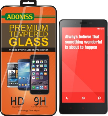 Adoniss Tempered Glass Guard for Mi Redmi Note 4