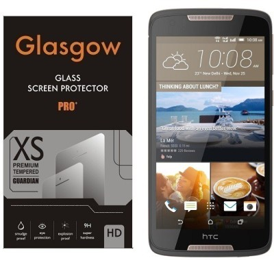 Glasgow Tempered Glass Guard for HTC Desire 828 Dual Sim(Pack of 1)