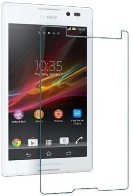 AMETHYST Tempered Glass Guard for Sony Xperia C C2305(Pack of 1)