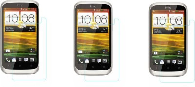 ACM Tempered Glass Guard for Htc Desire V(Pack of 3)