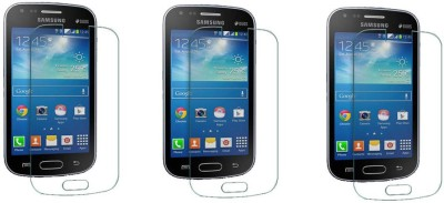 ACM Tempered Glass Guard for Samsung Galaxy S Duos S7562 (Pack of 3)(Pack of 3)