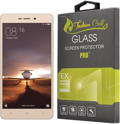 FashionCraft Tempered Glass Guard for Mi Redmi 3S Prime(Pack of 1)