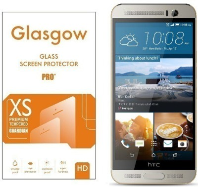 Glasgow Tempered Glass Guard for HTC One ME(Pack of 1)