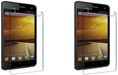 Souk Mobi Tempered Glass Guard for Micromax Canvas 2 Colors A120