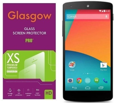 Big Zee Tempered Glass Guard for LG Nexus 5(Pack of 1)