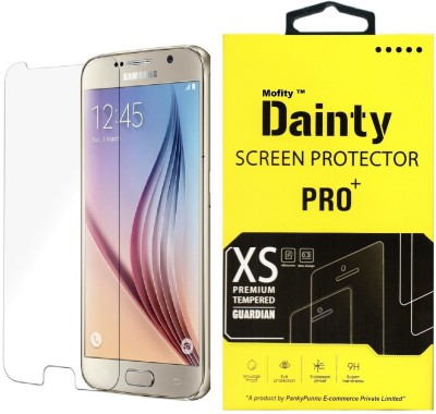 Tough Lee Tempered Glass Guard for Samsung Galaxy S6 Edge (5.1 inch, Black)