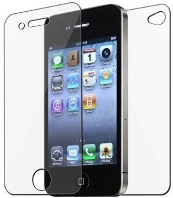 ROBMOB Front and Back Screen Guard for Apple iPhone 4s(Pack of 1)